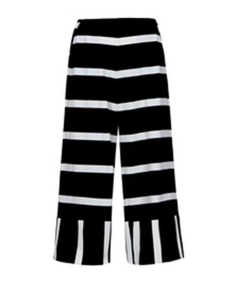 Alembika Alembika's Black & White Stripe Pant
