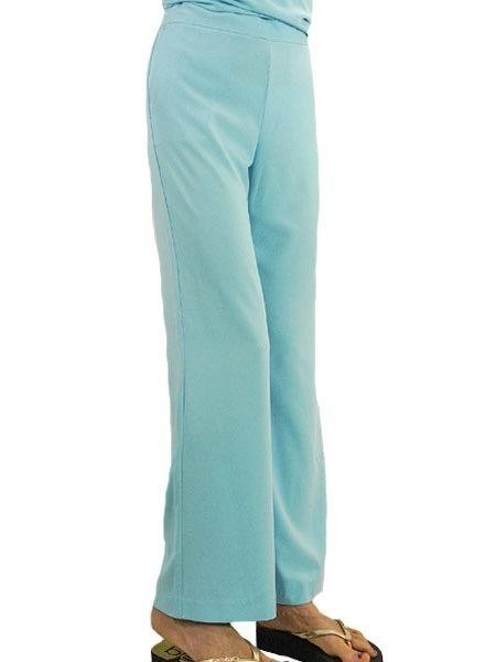 Renuar Renuar's Goddess Pants In Light Aqua