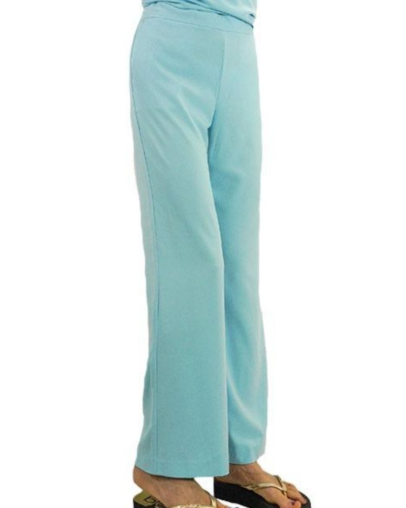 Renuar Renuar's Goddess Pants In Light Aqua