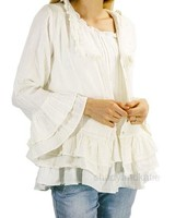 Paper Lace Paper Lace Ruffled Crop Jacket