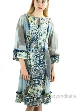 Petit Pois Combo Print Dolman Dress In New Blooming