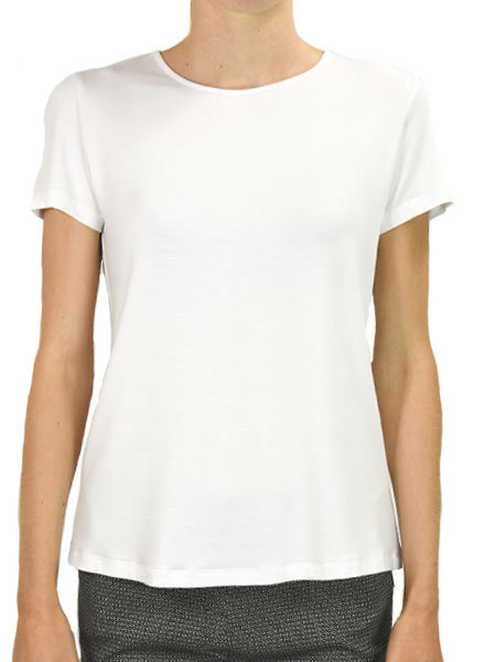 Comfy U.S.A. Comfy Short Sleeve Tee in White