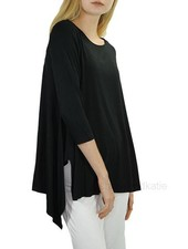 Comfy USA Vancouver Tunic In Black