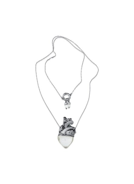 Maria Dolores Maria Dolores' Vital Necklace In Crystal