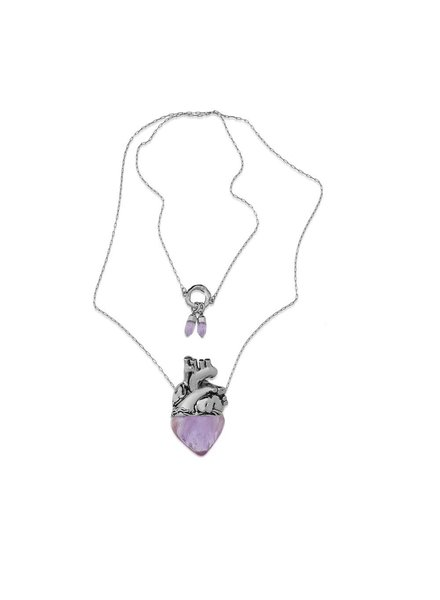 Maria Dolores Maria Dolores' Vital Necklace In Amethyst