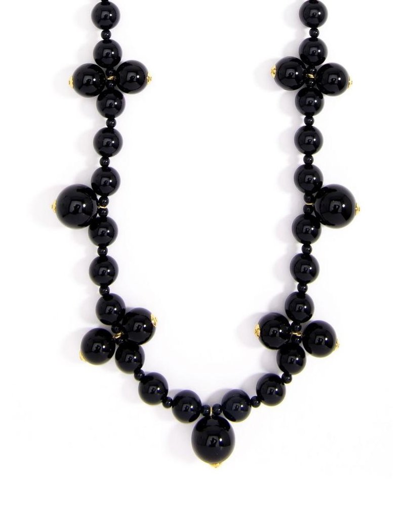 Chunky Long Pearl Necklace