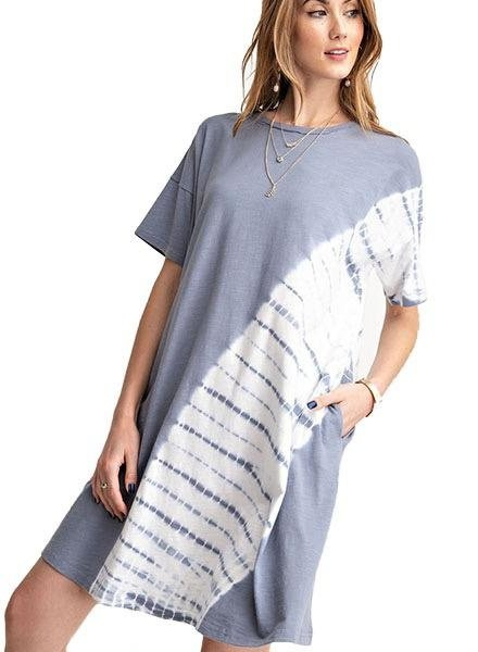 Oh So Comfy Dress In Slate
