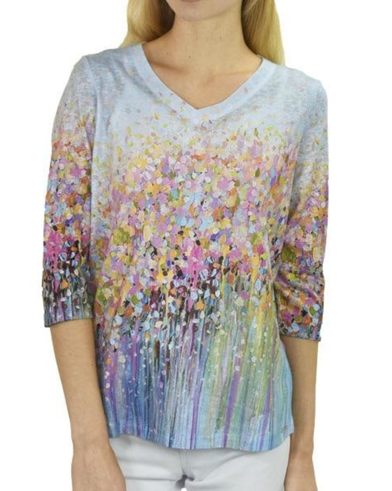 French Dressing French Dressing Field Of Flowers Top