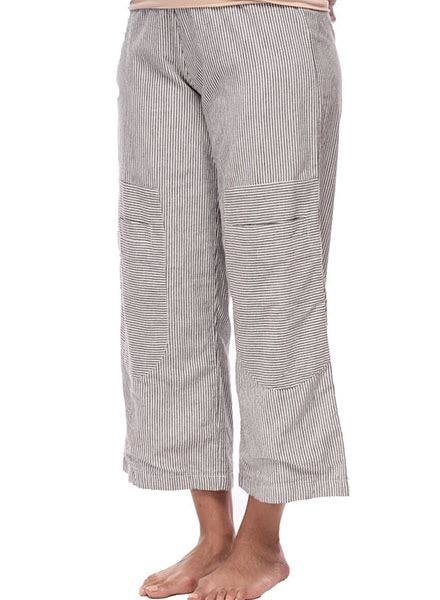 Tulip's Big Pocket Pant In Ticking