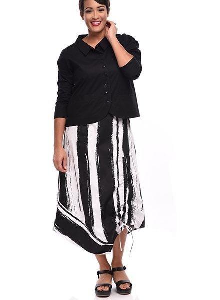 8c6f724993e0b Tulip's Ainsley Skirt In Taper Stripe