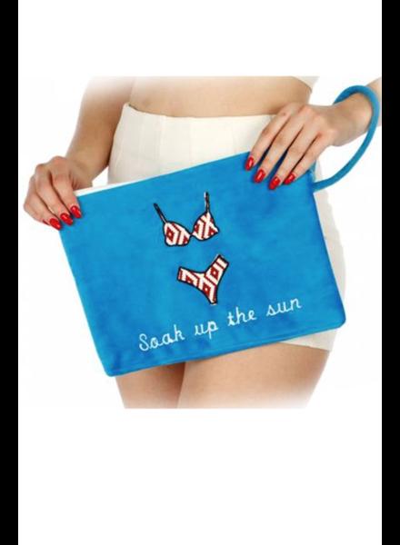 Soak Up The Sun Wet Bikini Bag