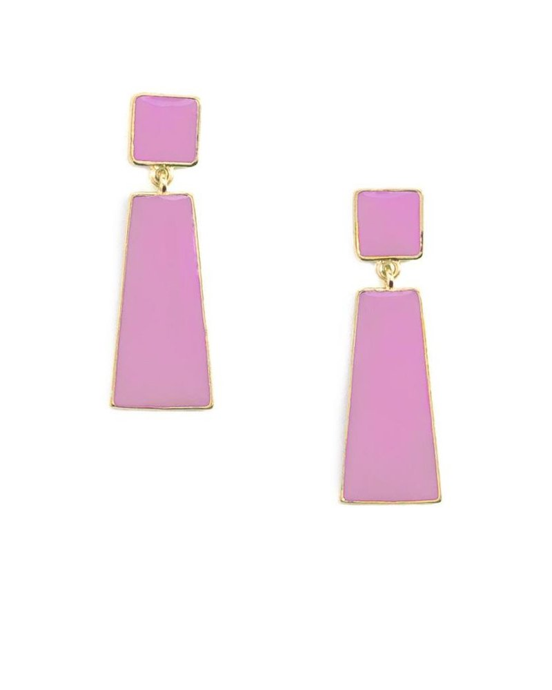 Hue Go Girl Earrings In Lavender