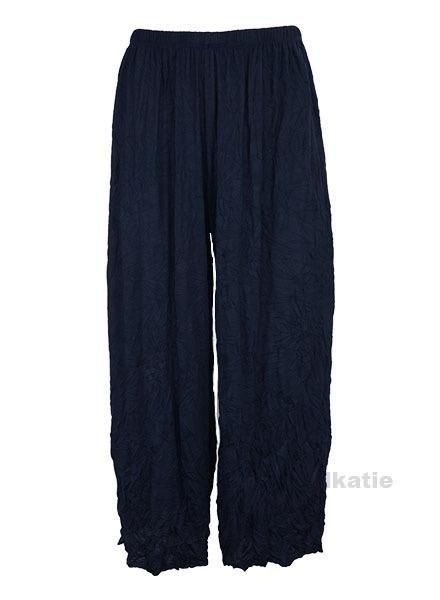 Comfy's Mina Crop Pants In Navy