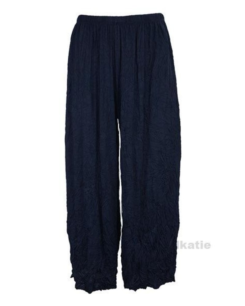 Comfy's Mina Crop Pants In Navy