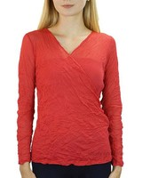 Comfy's Cambridge Top In Palm Beach Red Mesh