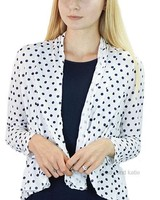 Comfy's Milford Jacket In Navy Dot