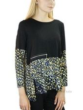 Comfy's Miami Tunic In Black & Abstract