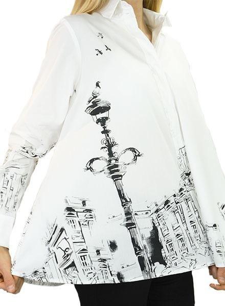 Comfy's Naomi Shirt In Renaissance Print