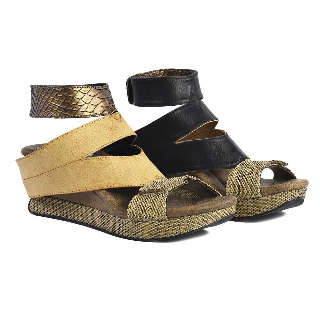 Sandal Wedge Reversible Strap T Olivia 4RqA3jL5