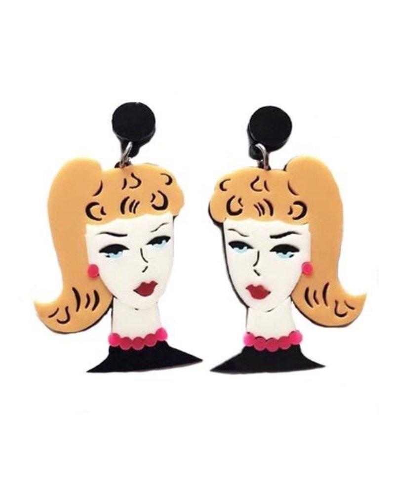 My Orginal Barbie Earrings