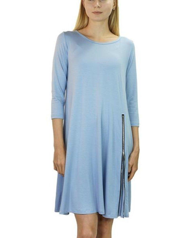 Comfy's Milan Dress In Capri Blue