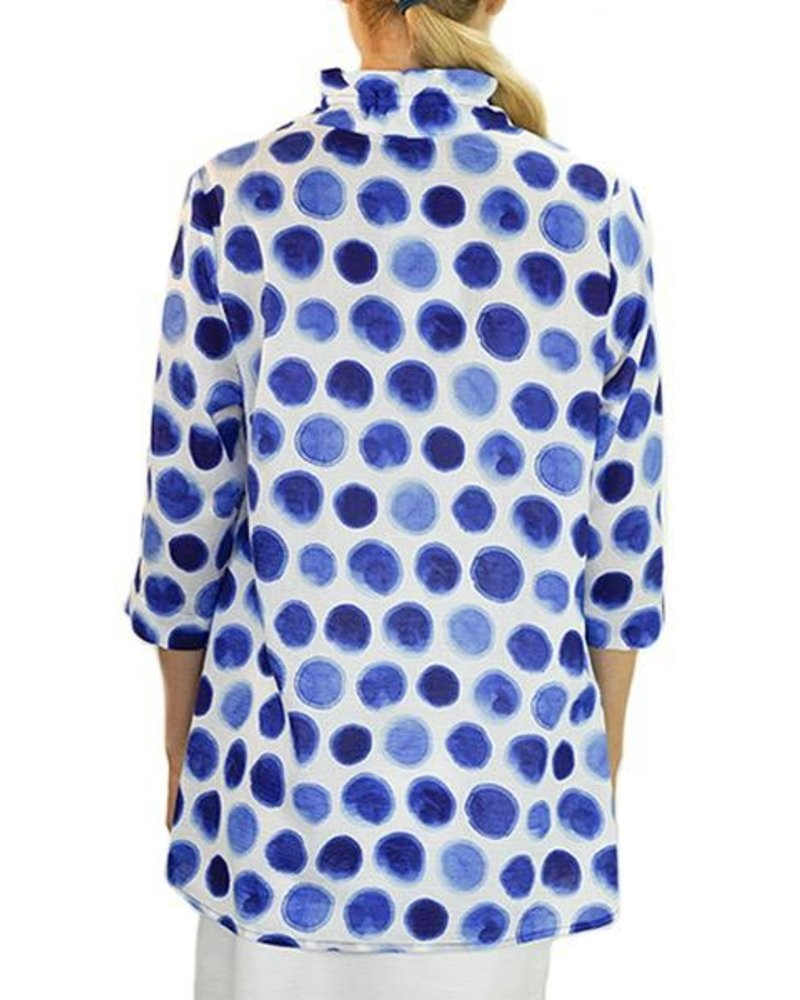 Terra Terra's Eclipse Pullover Tunic In Blue