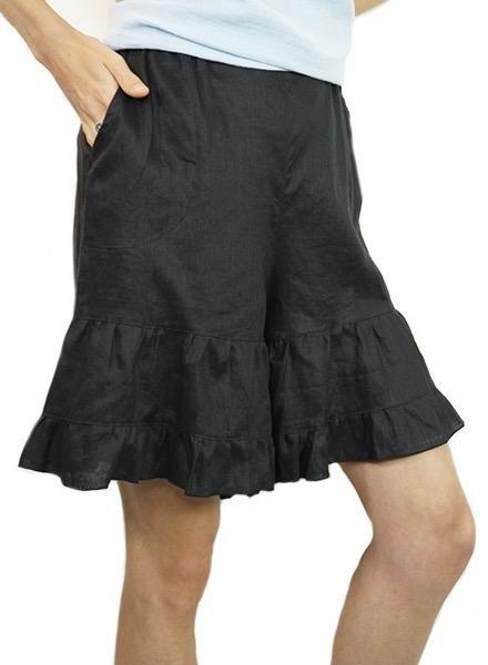 Just Jill Ruffled Shorts