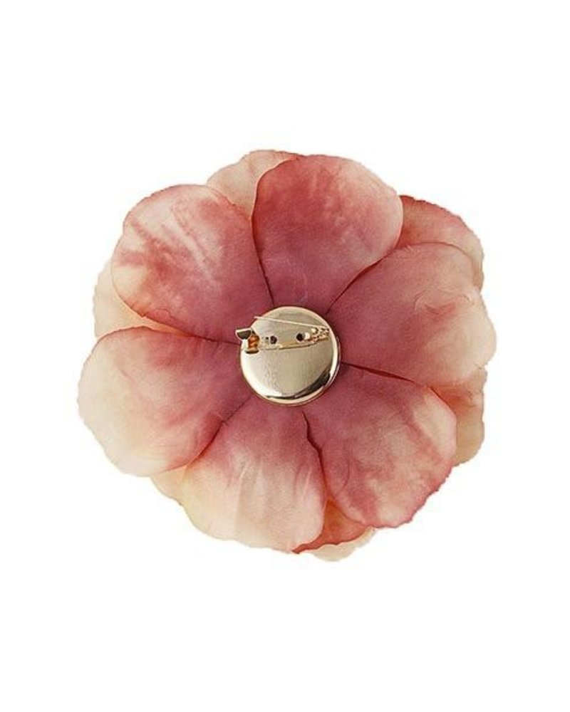 Medium Flower Pins In Pink Or Ivory