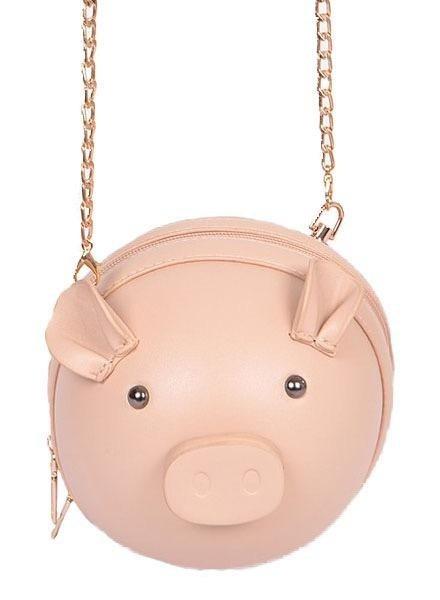Lil' Piggy Purse In Pink
