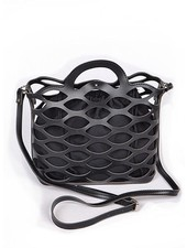 Sea Weave Bag In Black