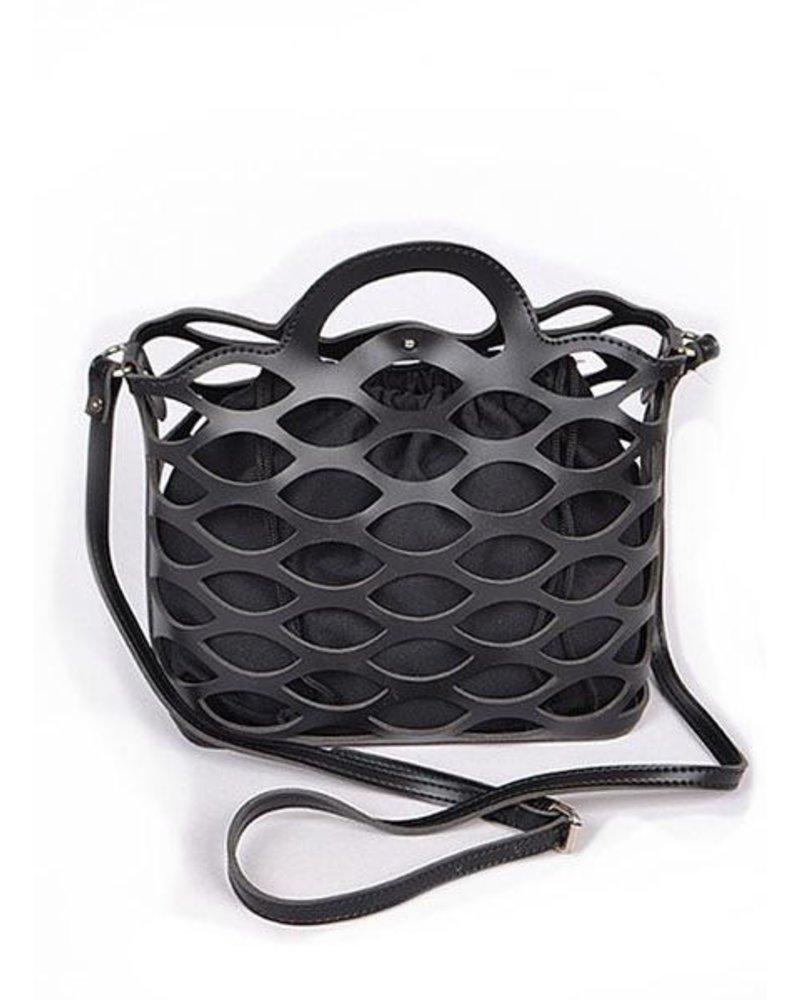 Sea Weave Bag In Black