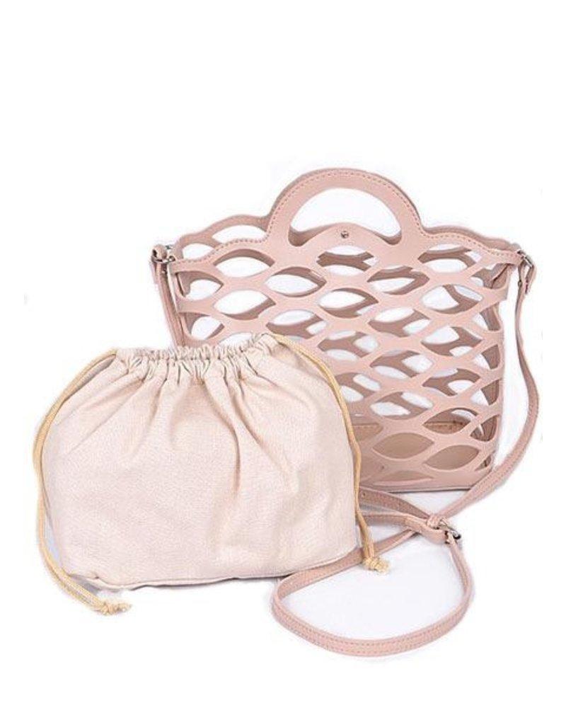 Sea Weave Bag In Pink