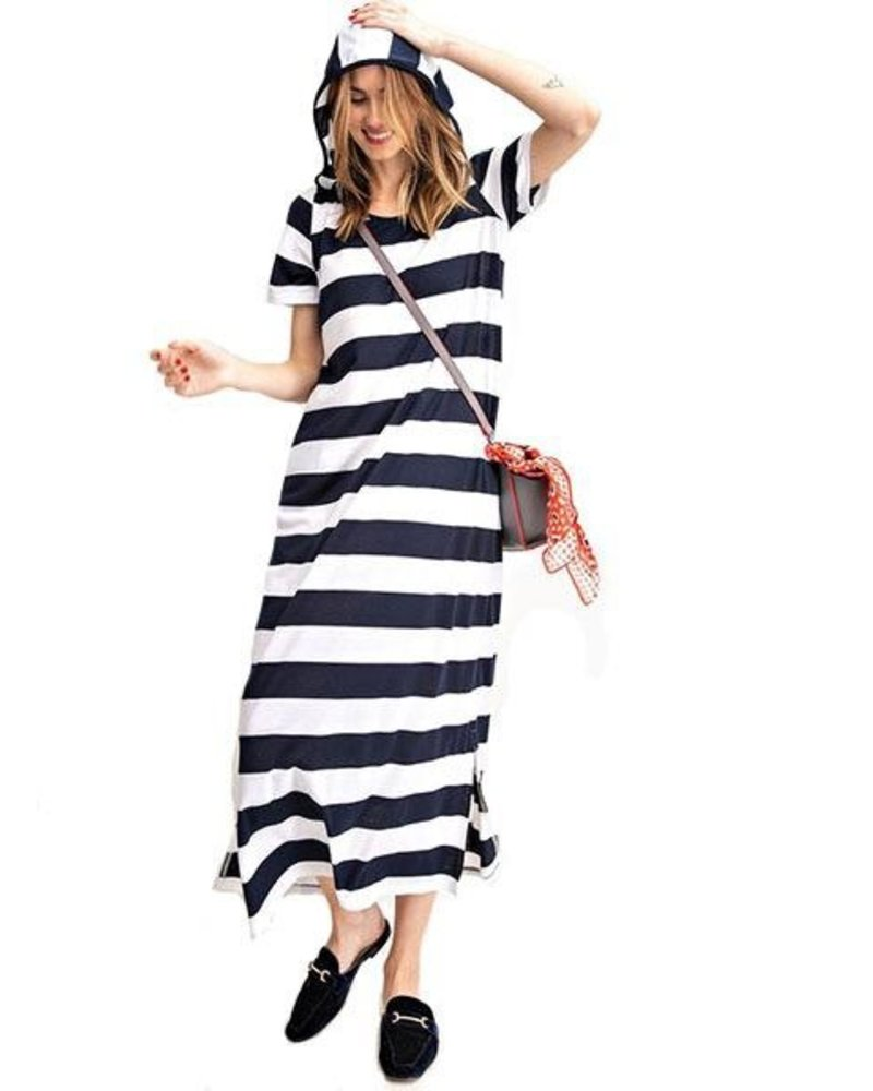 Captian Cool Dress In Navy