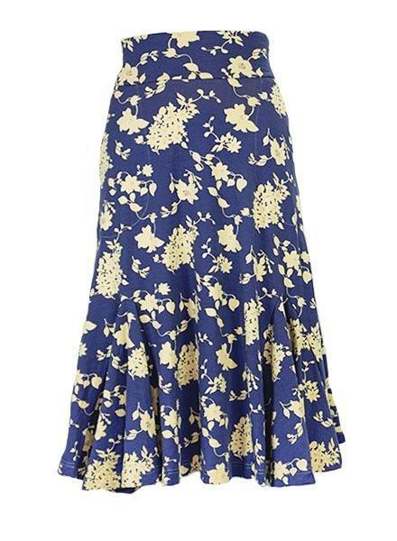 Effie's Heart Effie's Heart Mambo Skirt In Rhododendron