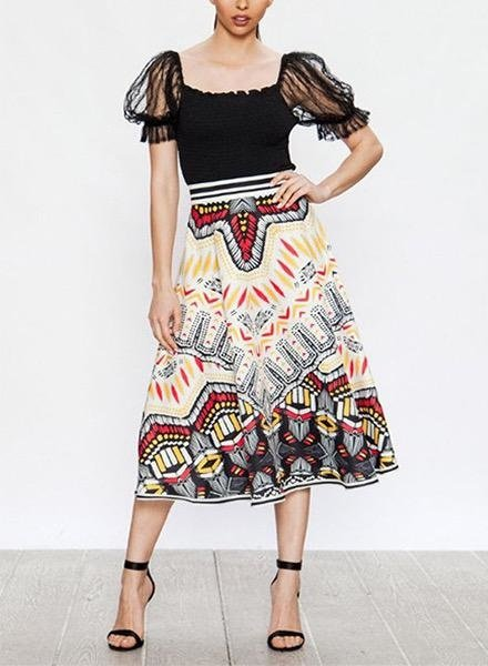 Down Mexico Way Skirt