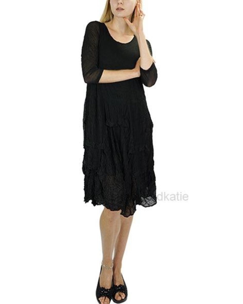 Comfy's Gina Dress In Black