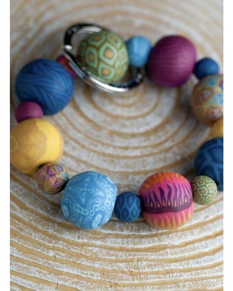 Key Bracelet In Bohemian