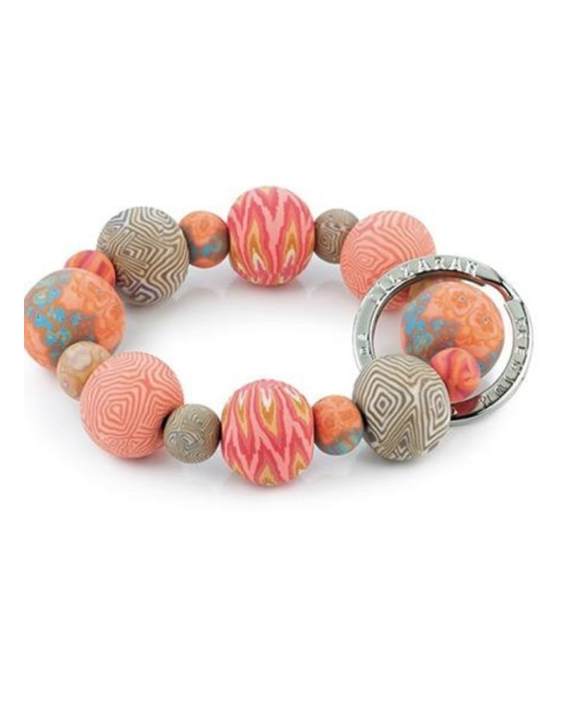 Key Bracelet In Coral Crush