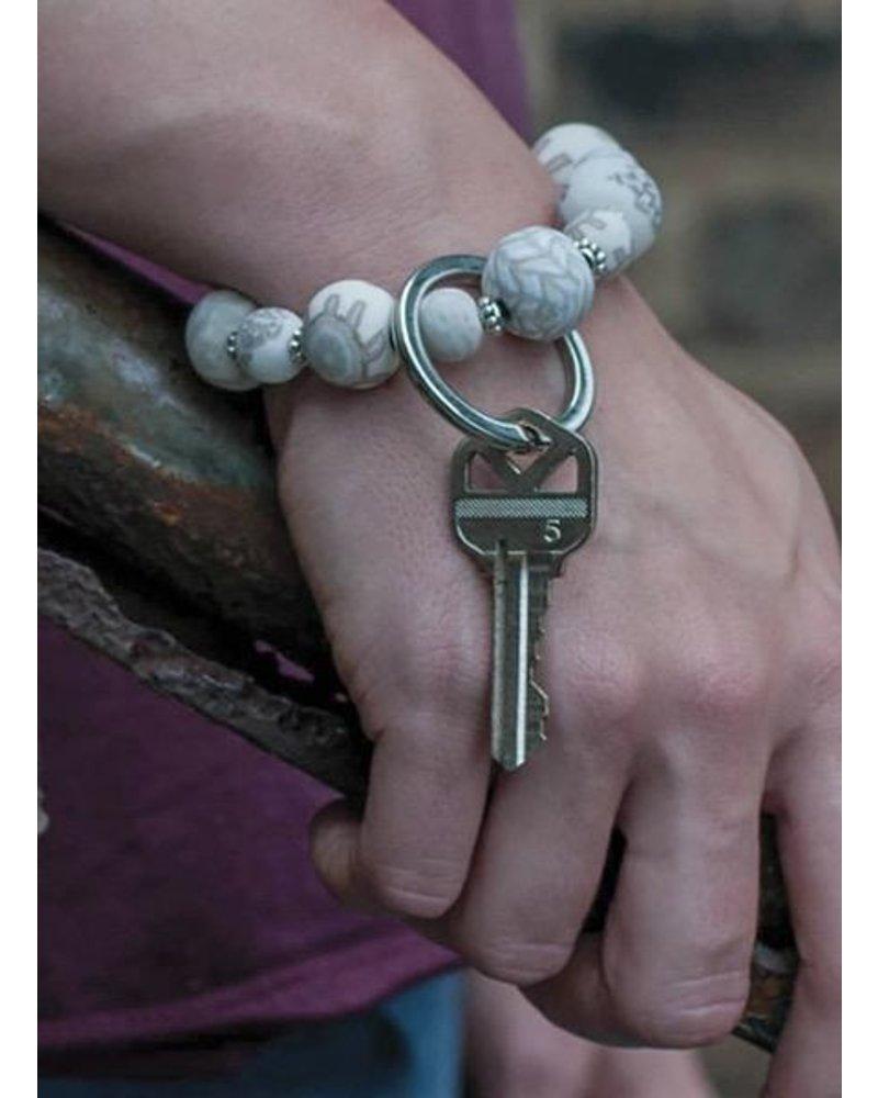 Key Bracelet Small Wrist In Linen