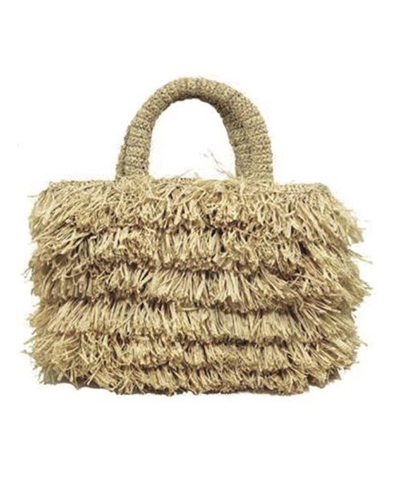 Shebobo The Shebobo Fringe Bag In Natural