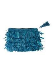 Shebobo Shebobo Frou Frou Clutch In Turquoise