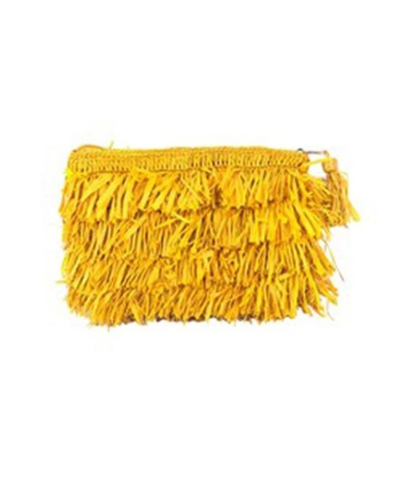 Shebobo Shebobo Frou Frou clutch In Saffron