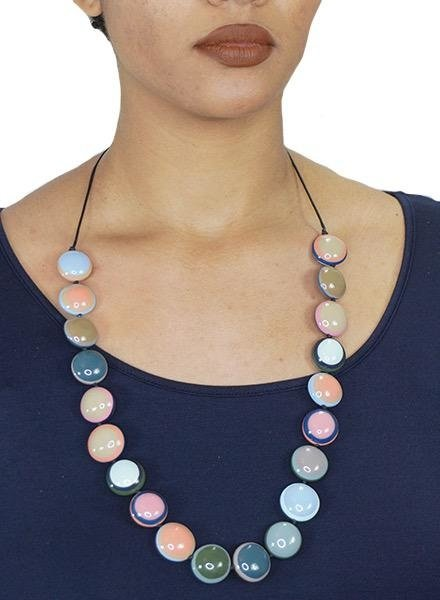 Sliding Candy Drop Necklace