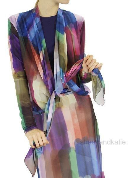 PetitPois Petit Pois Art Deco Wrap Jacket