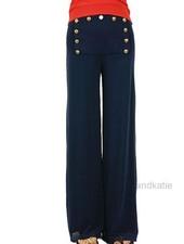 Petit Pois Lined Nautical Pants