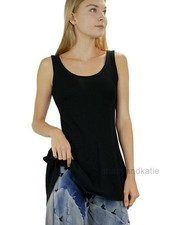 Petit Pois Swing Tank Top In Black