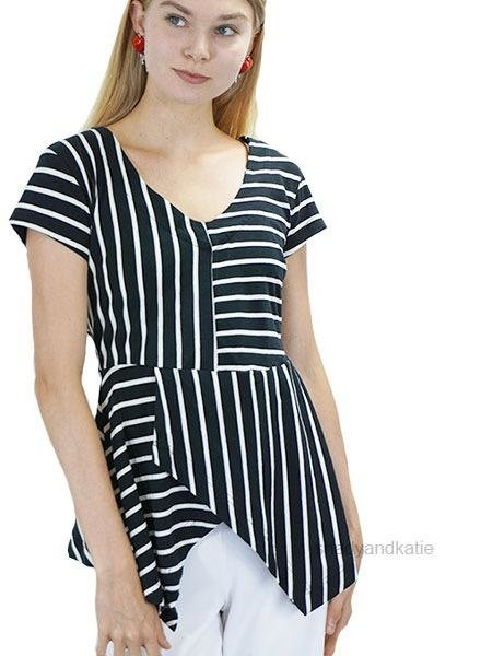 Effie's Heart Effie's Heart Pacific Tunic In Britanny Stripe