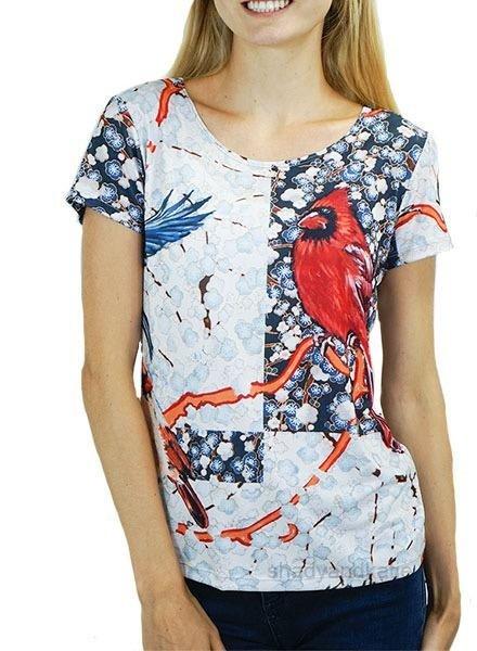 Le Galeriste K Smith Tee In Like A Bird