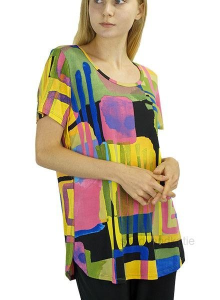 Color Me Happy Tunic Top
