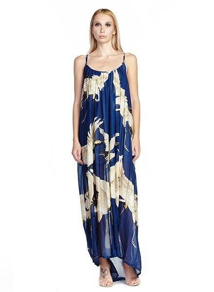 Aratta Aratta's Story Of The Blue Maxi Dress